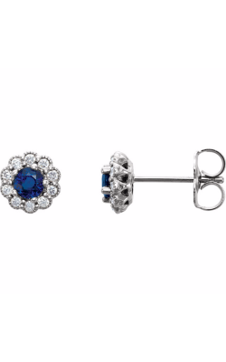 Fashion Jewelry By Mastercraft Gemstone Earring 86254 product image