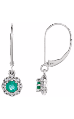 Fashion Jewelry By Mastercraft Gemstone Earring 86247 product image