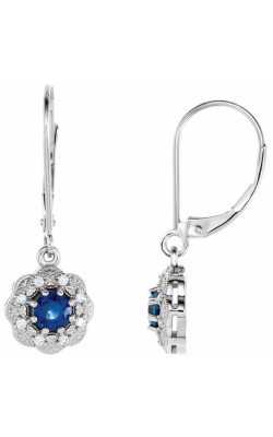 Fashion Jewelry By Mastercraft Gemstone Earring 86245 product image