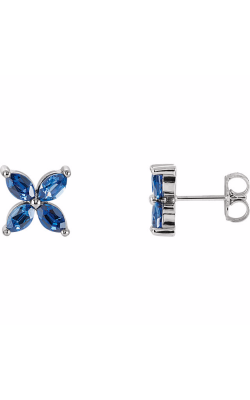 Princess Jewelers Collection Gemstone Earring 85948 product image