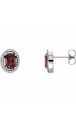 Fashion Jewelry By Mastercraft Gemstone Earring 86070 product image