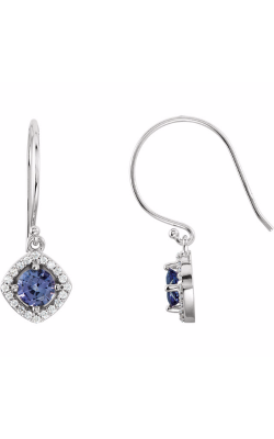 Fashion Jewelry By Mastercraft Gemstone Earring 69709 product image