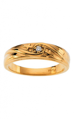 Fashion Jewelry By Mastercraft Religious And Symbolic Fashion Ring R16651D product image