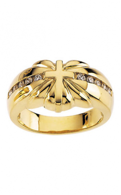 Fashion Jewelry By Mastercraft Religious And Symbolic Fashion Ring R7049D product image