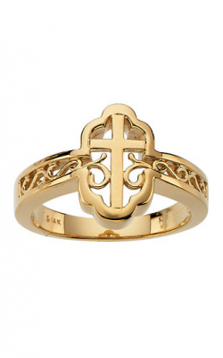 Fashion Jewelry By Mastercraft Religious And Symbolic Fashion Ring R7039 product image
