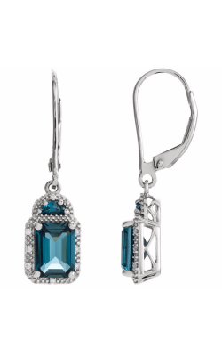 Fashion Jewelry By Mastercraft Gemstone Earring 651440 product image