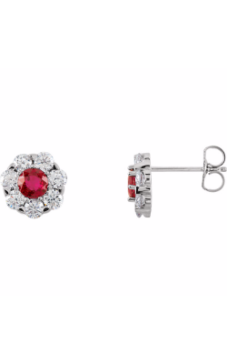 Princess Jewelers Collection Gemstone Earring 66418 product image