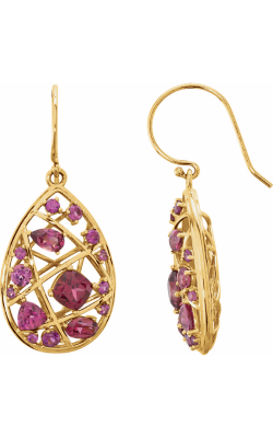 Fashion Jewelry By Mastercraft Gemstone Earring 85697 product image