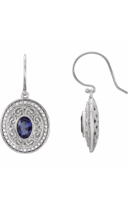Fashion Jewelry By Mastercraft Gemstone Earring 85705 product image