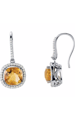 Fashion Jewelry By Mastercraft Gemstone Earring 69245 product image