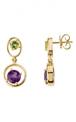 Fashion Jewelry By Mastercraft Gemstone Earring 67478 product image
