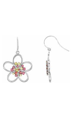 Fashion Jewelry By Mastercraft Gemstone Earring 85407 product image
