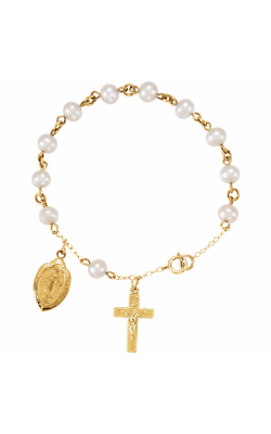 Fashion Jewelry by Mastercraft Religious and Symbolic Bracelet R41907 product image