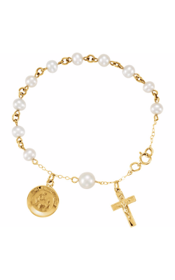 Fashion Jewelry by Mastercraft Religious and Symbolic Bracelet R41906 product image