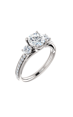 Stuller Three Stone Engagement Ring 122000 product image