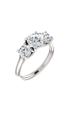 Stuller Three Stone Engagement Ring 122105 product image