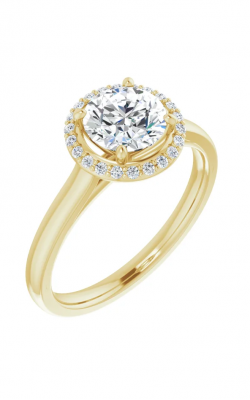 Sharif Essentials Collection Halo Engagement Ring 122060 product image