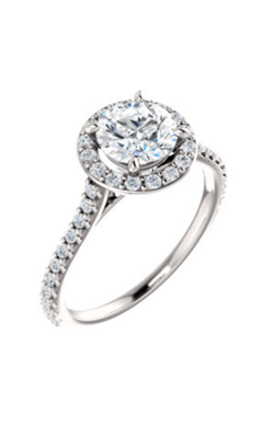 Stuller Halo Engagement Ring 122870 product image