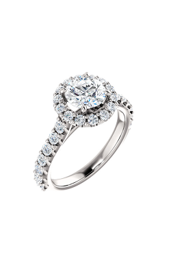 Stuller Halo Engagement Ring 122804 product image
