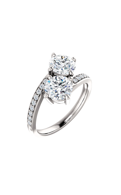 Stuller Two-Stone Engagement Ring 122933 product image