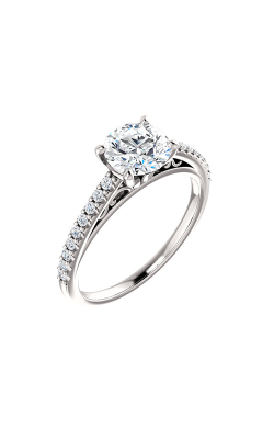 Stuller Sidestone Engagement Ring 122838 product image