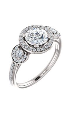 Stuller Three Stone Engagement Ring 121999 product image