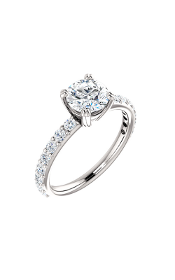 Stuller Sidestone Engagement Ring 122188 product image
