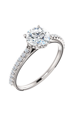 Stuller Sidestone Engagement Ring 122993 product image