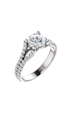 Stuller Sidestone Engagement Ring 122094 product image