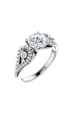 Stuller Three Stone Engagement Ring 122002 product image