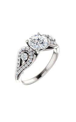Stuller Three Stone Engagement Ring 122002 product image