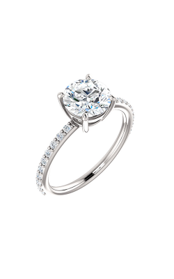 Stuller Sidestone Engagement Ring 71638 product image