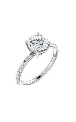 Stuller Sidestone Engagement Ring 71638 product image
