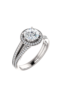Stuller Halo Engagement Ring 122181 product image