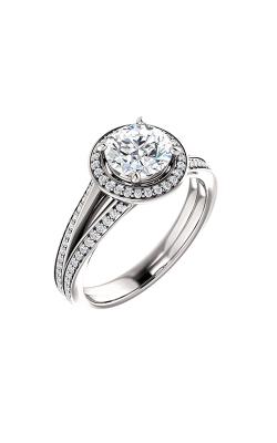 Stuller Halo Engagement Ring 122181 product image