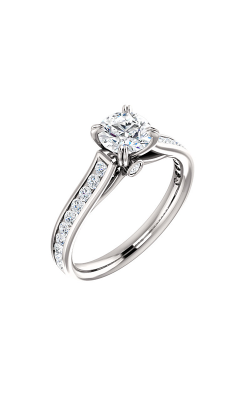 Stuller Sidestone Engagement Ring 122090 product image