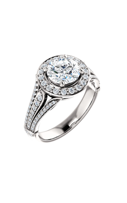 Stuller Halo Engagement Ring 122064 product image