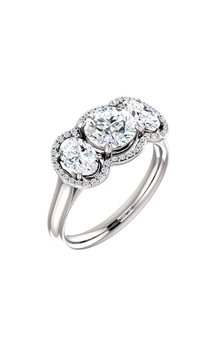 Stuller Three Stone Engagement Ring 71602 product image