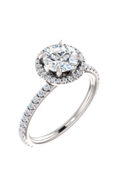 Stuller Halo Engagement Ring 123310 product image