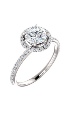 Stuller Halo Engagement Ring 123333 product image