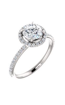 Stuller Halo Engagement Ring 123333 product image