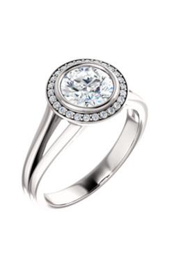 Stuller Halo Engagement Ring 122200 product image