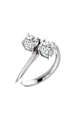 Stuller Two-Stone Engagement Ring 122935 product image