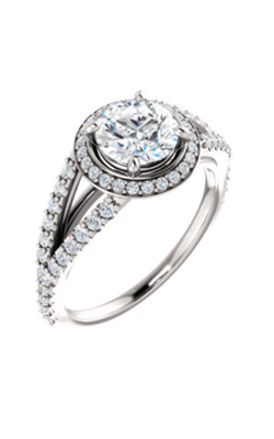 Stuller Halo Engagement Ring 122986 product image