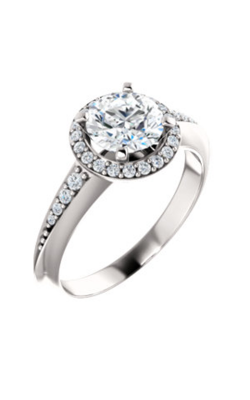 Stuller Halo Engagement Ring 122699 product image
