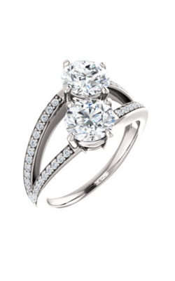 Stuller Two-Stone Engagement Ring 122934 product image