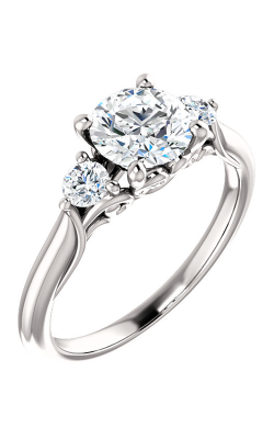 Stuller Three Stones Engagement Ring 124157 product image