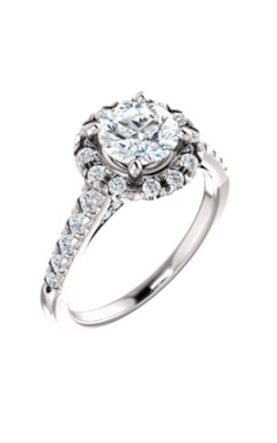 Stuller Halo Engagement Ring 123861 product image