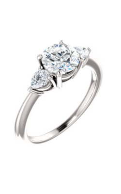 Stuller Three Stones Engagement Ring 122924 product image