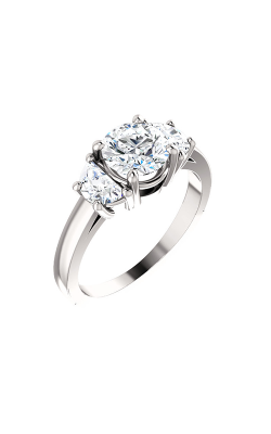 Stuller Three Stones Engagement Ring 122104 product image
